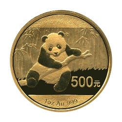 Gold Panda Anlagemünze