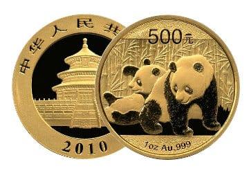 Panda Goldmünzen