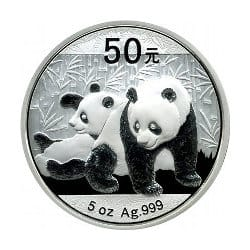 Silber Panda Anlagemünze